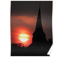 Saint Sunset Poster