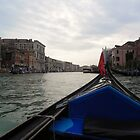 Gondola Ride in Venice by cassidyfritts
