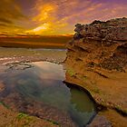 Rock Pool two in Colour by Andrew (ark photograhy art)