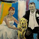 The wedding of Mr and Mrs Fry. (Commissioned) by Cat Leonard