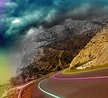 Roads and lines by Yiannis  Telemachou