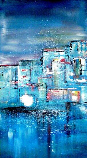 City of Blue by Rachel Ireland-Meyers