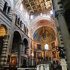 Inside The Cathedral of Pisa by cassidyfritts