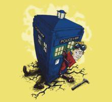 Dr Whorrible's revenge (red) Kids Clothes