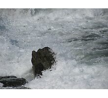 Castle Rock Water Art Photographic Print