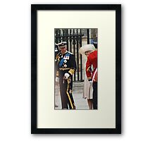 PRINCE OF WALES AND CAMILA PARKER BOWLES Framed Print