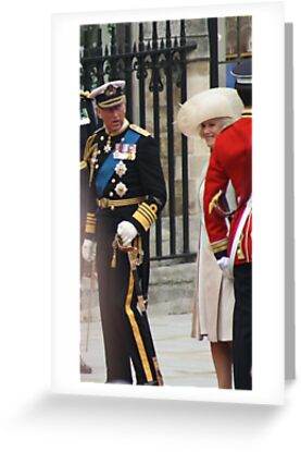 PRINCE OF WALES AND CAMILA PARKER BOWLES by Marie Brown ©