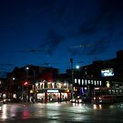 Queen at Spadina at Night by Gary Chapple