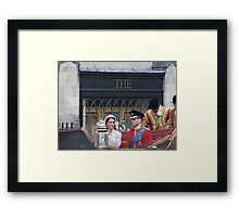 KATE AND WILLIAM  Framed Print