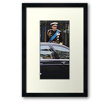 PRINCE ANDREW Framed Print