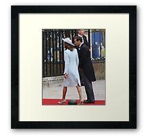 JAMES AND CAROL MIDDLETON Framed Print
