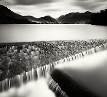 Crummock flows by Peter Gallagher
