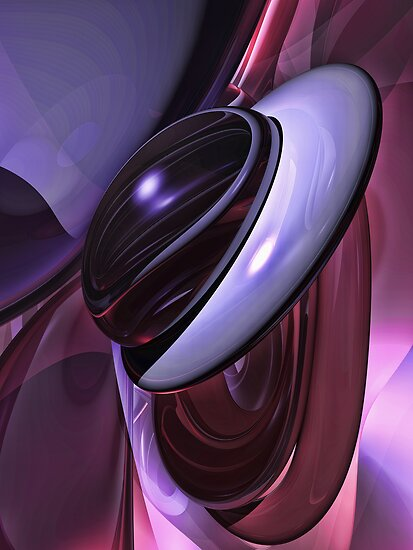 Sensual Healing Abstract by Alexander Butler