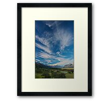 Cloud over Aoraki/Mt. Cook - New Zealand Framed Print