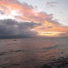 Sunset from Lahaina, Maui, HI by Maurine Huang