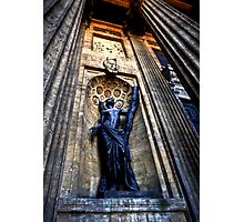 Statue at Kazan Cathedral Photographic Print