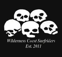 Wilderness Coast Surfriders - Skulls - Tshirt by wcsurfriders