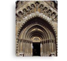 Jak Church Entrance, Budapest Canvas Print