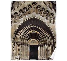 Jak Church Entrance, Budapest Poster