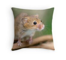 Happy Harvest Mouse Throw Pillow