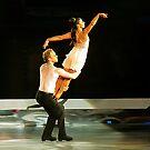 ice skating (dan and hayley) by brett watson