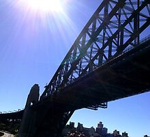 The other side of SydneyHarbour Bridge by Sam Azar