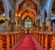 Cathedral #3 - Aisle by vilaro Images
