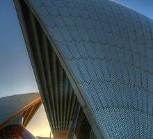 Aria #2 - Angles - Sydney Opera House, Sydney Australia by Philip Johnson