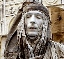 The Living Statue.  by Anthony Vella