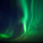 Northern Alberta, Northern Lights #3 - Spring 2011 by Don Arsenault