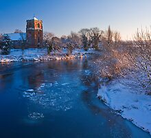 St Eata's mid winter by Paul Whittingham