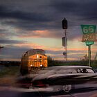 Nick of Time on Route 66 by Mark Richards
