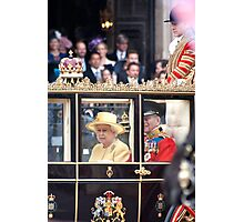The Queen's Carriage Photographic Print