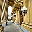 Pillars and Doors by Myron Watamaniuk