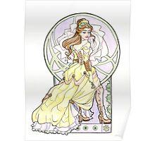 Steampunk Belle Nouveau Poster