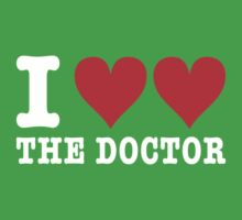 I heart heart the doctor  by jelitan