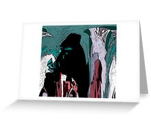 Hooded Figures Greeting Card