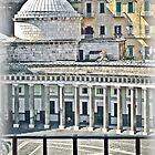 View on Piazza del Plebiscito / Naples / Italy (2) by Rachel Veser