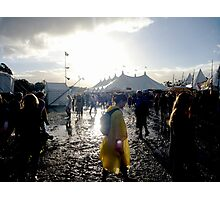 Blues and Mudfest 2011 Photographic Print