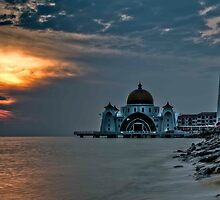 Melaca Floating Mosque by paulcowell