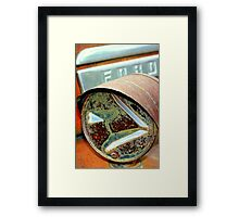 Left Turn Framed Print