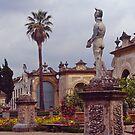 Medieval garden#2, Medici Villa, Florence, Italy. by johnrf