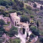 Country village, the Luberon, France. by johnrf