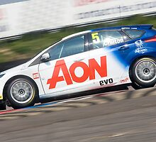 BTCC Tom Chilton, AON Ford Focus ST by Mark Greenwood