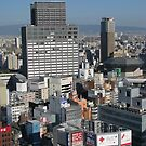 Osaka Cityscape by SuziTC