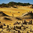 """""""Pyramids In Nambung"""" by Heather Thorning"""