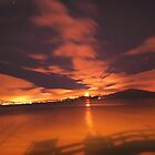 Just after sunset - Pier 39 - San Francisco by Toby Wilson