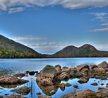 Jordan Pond by kudzu