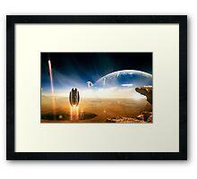 Idea from Star Trek Framed Print