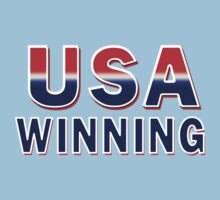 USA Winning by Marcia Rubin